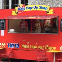 There's a Tayto crisp sandwich shop at Castlepalooza this weekend