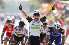 Cavendish hot on the heels of Tour record as he storms to opening stage victory