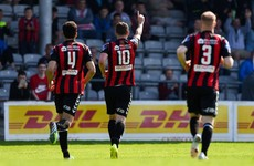 Byrne strikes as Bohs make it 6 games unbeaten in all competitions