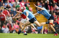 Cork's late show secures hurling qualifier victory against 14-man Dublin