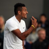 Nick Kyrgios in hot water again after calling one of his team 'retarded' during on-court outburst