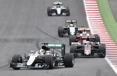 Hamilton wins after last lap Rosberg crash in Austria