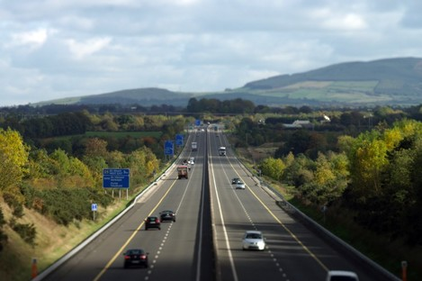 The M7 is Ireland's oldest motorway with the first stretch laid in 1983.