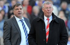 Alex Ferguson's only gone and backed Big Sam for the England job