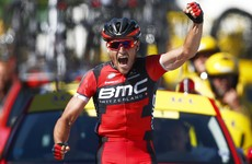 'My first time and maybe my last': Van Avermaet thrilled to pull on yellow jersey