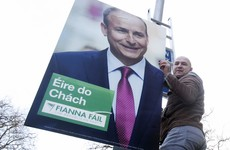 Fianna Fáil is surging in the latest opinion poll