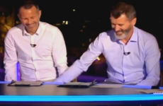 'It's a nice easy group as well' - Ryan Giggs expertly trolled Keano on ITV last night