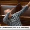 Richard Boyd Barrett just 'dabbed' in the Dáil...