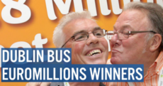Watch: Dublin Bus EuroMillions winners are all heading back to work