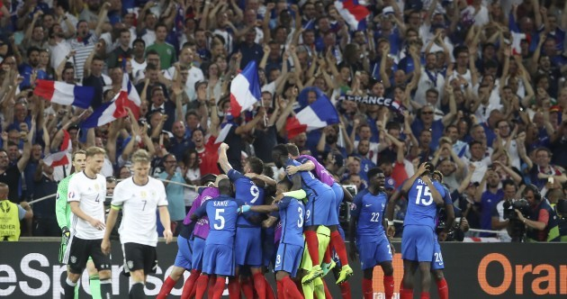 Griezmann grabs another brace as France see off Germany to seal home Euro 2016 final