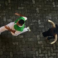 Five people gored during Pamplona bull run