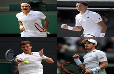 Going the distance: some fascinating stats ahead of the men's singles semis at Wimbledon