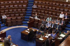 The Dáil was left waiting for 39 minutes today after too few TDs turned up