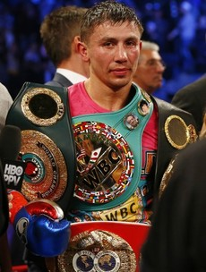 Massive boxing news as GGG puts titles on the line against Kell Brook