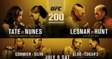 UFC 200: Here are the important details for tonight's landmark event