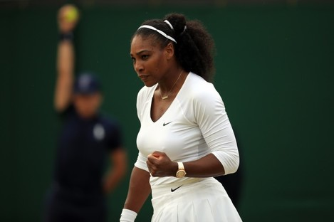 Serena Williams will hope to create history this afternoon.