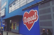 This Repeal mural by Maser has just gone up in Temple Bar