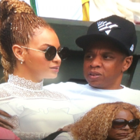 Beyoncé showed up at Wimbledon before her Croker gig and people can't cope