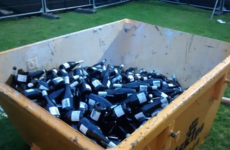 This skip of prosecco perfectly sums up the crowd at Kodaline's Marley Park gig