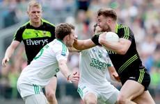 Aidan O'Shea tricks the referee into awarding Mayo a crucial penalty with blatant dive