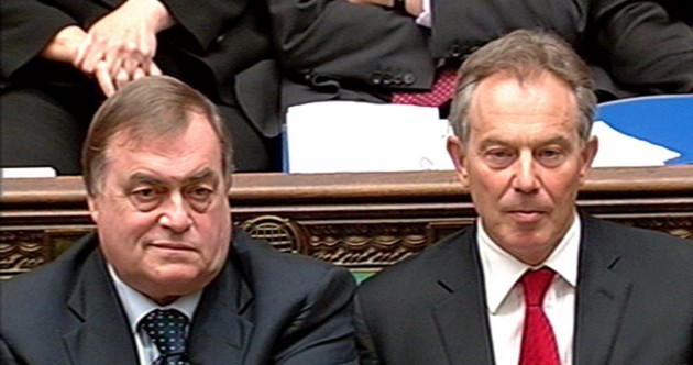 Tony Blair's former number two now says the Iraq war was illegal