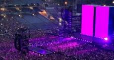 Beyoncé turned Croke Park into a sea of purple last night