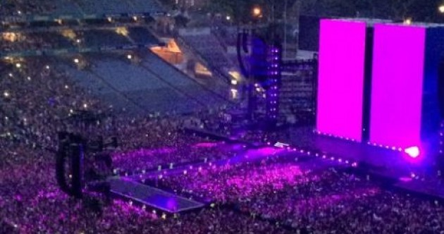 Beyoncé turned Croke Park into a sea of purple last night