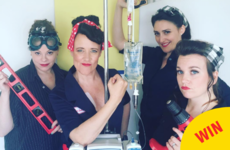 A woman with cancer is turning her chemo treatments into funny and inspiring photo ops