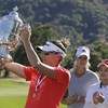 Brittany Lang won the US Open last night - you'd think the USGA president would know her name