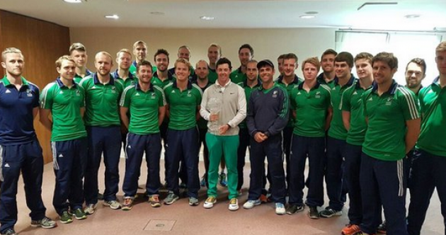 Mickey Harte, Joe Schmidt and Rory McIlroy part of the Irish hockey team's Rio preparations