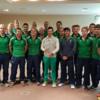 Mickey Harte, Joe Schmidt and Rory McIlroy part of the Irish hockey team's Rio preparations