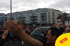 A load of people just took to the streets of Galway to do a collective Viking Clap