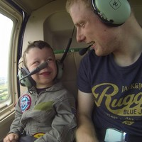 An Irish pilot took his little brother on his first helicopter flight, and it'll warm your heart