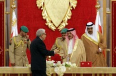 Bahrain's king criticises investigation distancing Iran from Arab Spring