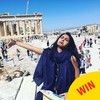 This woman's mopey photos from her honeymoon without her husband are too funny