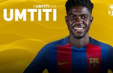 After making his France debut at Euro 2016, Umtiti gets €25m Barca move