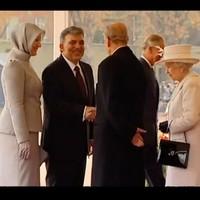 Watch: Queen Elizabeth flabbergasted by Turkish first lady's killer heels