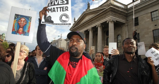Hundreds attend Black Lives Matter demos in Cork, Dublin and Galway