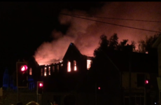 Nearby houses evacuated as emergency services battle fire at school in Cork