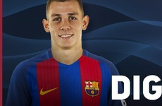 Barcelona sign second Frenchman in as many days as Lucas Digne arrives from PSG