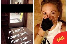 This Playboy model is in trouble for Snapchatting a naked woman at her gym