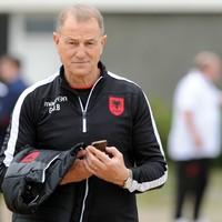 Albania boss: I'm the right man for the England job