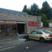 Joyrider smashes through front window of cafe in Cork