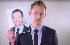 Tom Hiddleston hates getting mistaken for Michael Fassbender... The Dredge