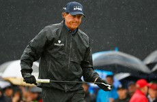 Mickelson still the man to catch at The Open after his second round but Stenson closing in