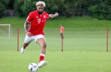 Beckham showed up for training at Bayern Munich...but not that one