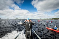 17-year-old Edgar storms to national sprint distance triathlon title