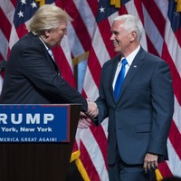 """""""My partner in this campaign"""" - Trump introduces Mike Pence as his running mate"""