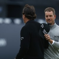 Shoot-out Sunday! Stenson takes one shot lead over Mickelson into final round of Open