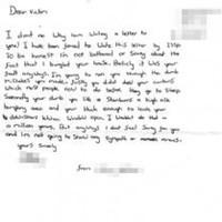Apology fail: Teen burglar blames victims for crimes
